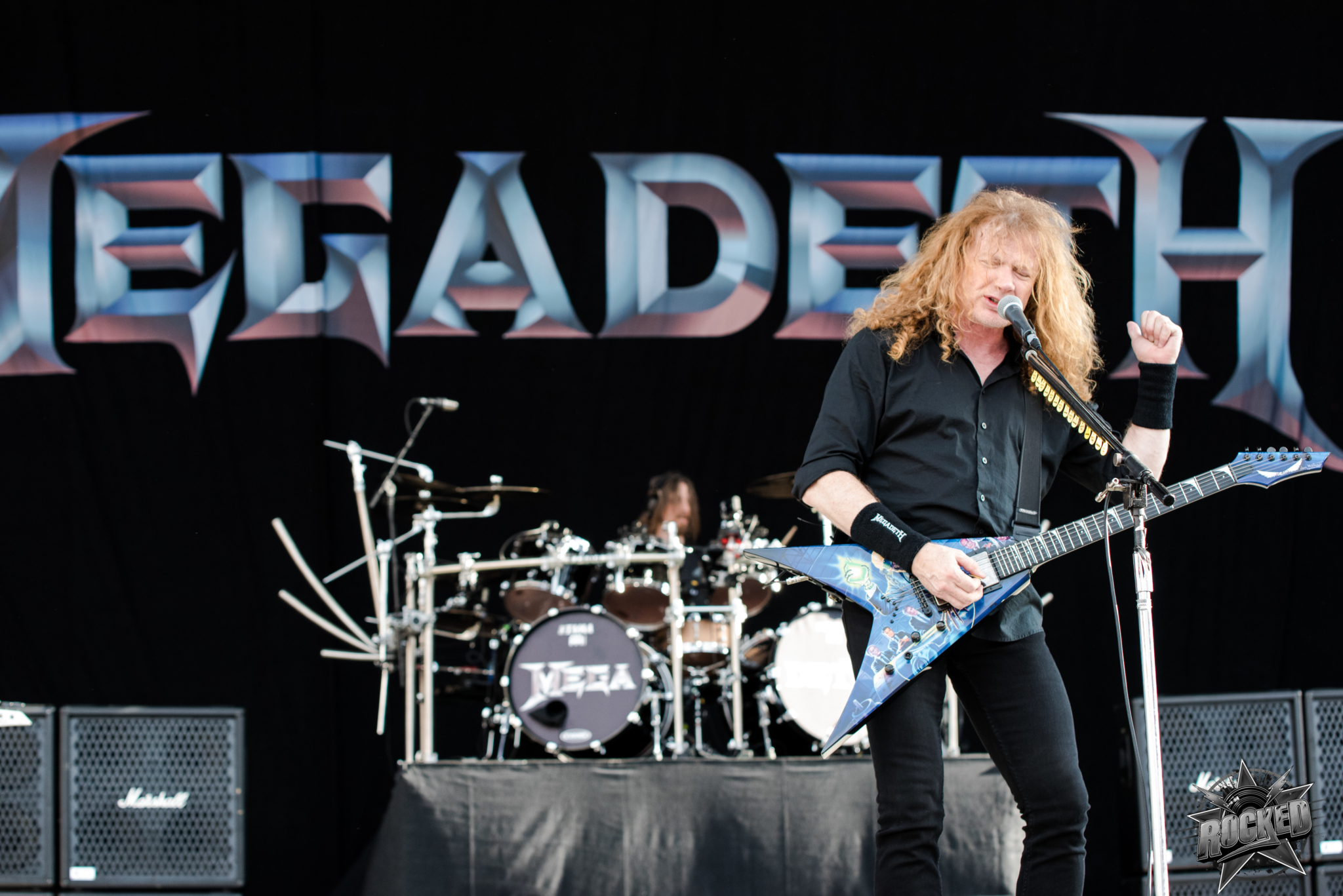 photos megadeth at chicago open air in chicago il 7 14 2017 rocked
