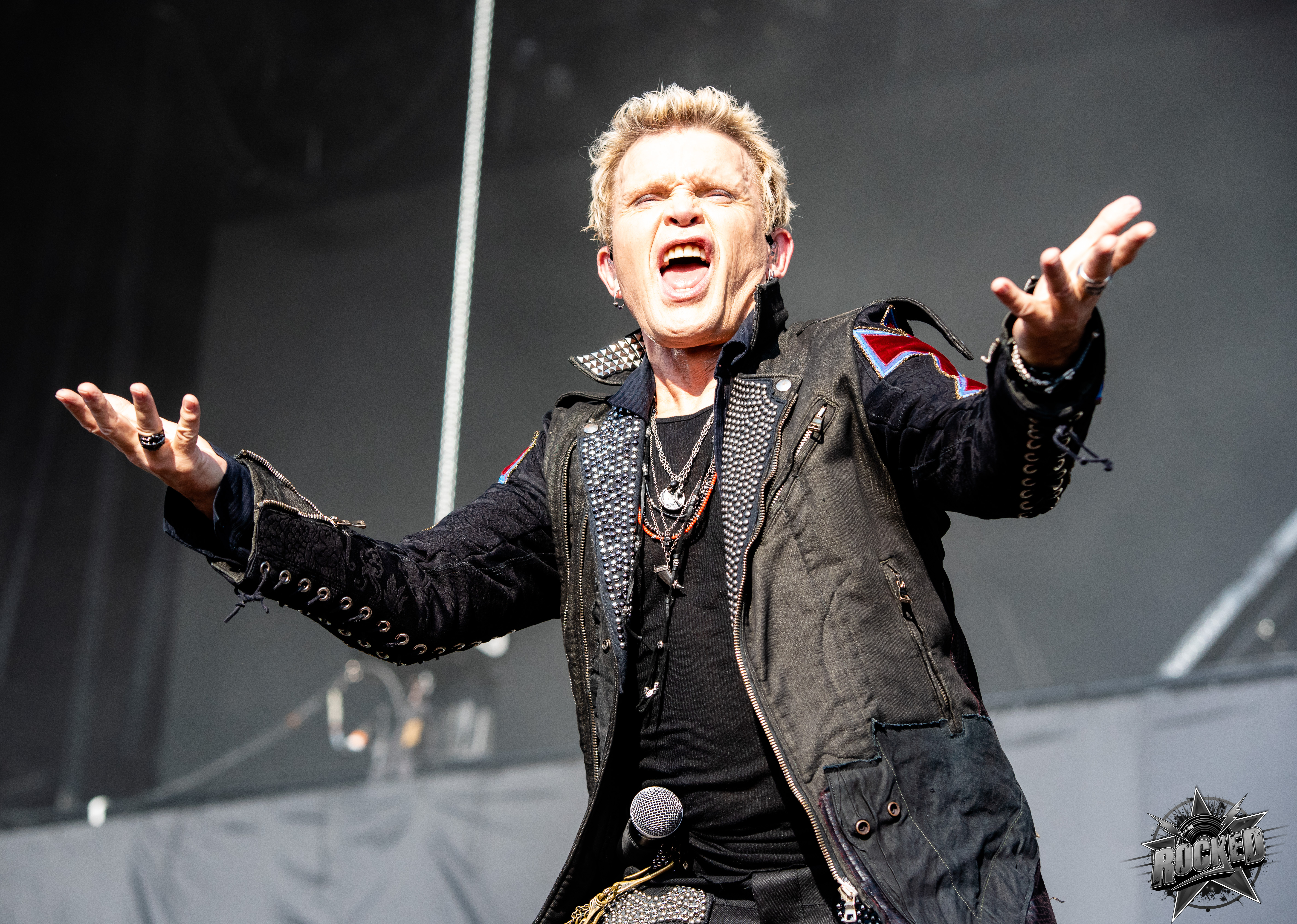 photos billy idol at welcome to rockville in jacksonville fl 4 29 2018 rocked. Black Bedroom Furniture Sets. Home Design Ideas